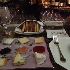 Photo taken at Aureole Wine Lounge by Jenny N. on 5/31/2012