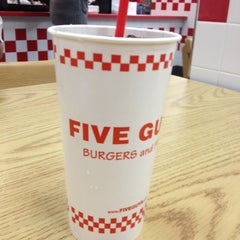 Photo taken at Five Guys by Gc M. on 2/5/2012