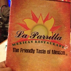Photo taken at La Parrilla Mexican Restaurant by Manjanath N. on 5/11/2012