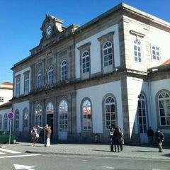 Photo taken at Estação Ferroviária de Porto-Campanhã by OG on 2/23/2012
