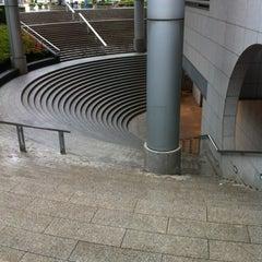 Photo taken at 用賀駅 (Yoga Sta.) by tsutomu k. on 6/8/2012