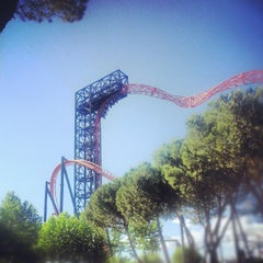 Photo taken at Parque de Atracciones de Madrid by Adrian M. on 6/21/2012