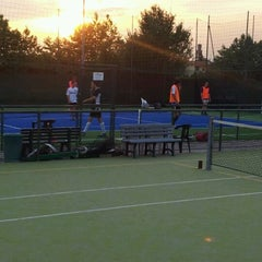 Photo taken at Tennis Club Peseggia by Andrea B. on 6/6/2012