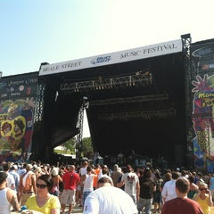 Photo taken at 2012 Beale Street Music Festival - Orion Stage by Bradley T. on 5/6/2012