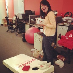 Photo taken at GrubHub.com World Headquarters by Laura C. on 6/14/2012