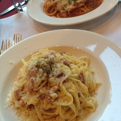 Photo taken at Piazza Italia by Lu C. on 9/7/2012