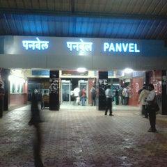 Photo taken at Panvel Railway Station by Nikhil R. on 7/21/2012
