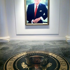 Photo taken at Ronald Reagan Presidential Library and Museum by Veronica J. on 4/19/2012