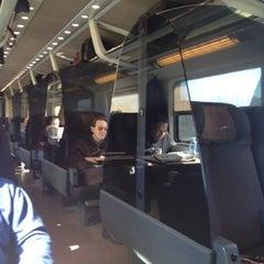 Photo taken at Frecciarossa AV9606 RM > MI by Rafa R. on 2/29/2012
