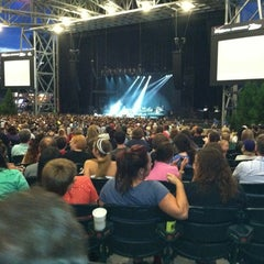 Photo taken at Verizon Wireless Amphitheatre at Encore Park by Nick M. on 6/8/2012