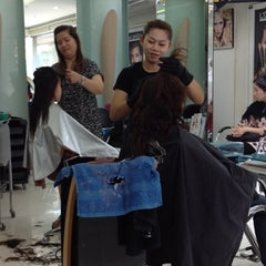 Photo taken at Nui Salon by Ex M. on 8/26/2012