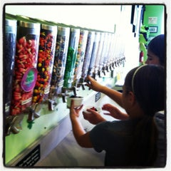 Photo taken at Feeney's Frozen Yogurt by Victoria on 3/17/2012