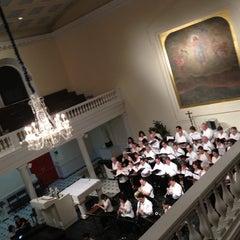 Photo taken at St. Joseph's Roman Catholic Church by Jereme on 7/11/2012