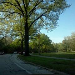 Photo taken at Rockefeller Park by Dorjan S. on 4/25/2012