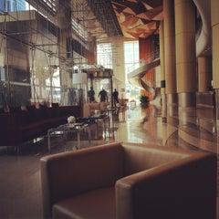 Photo taken at Kempinski Grand Hotel by Amna M. on 7/21/2012