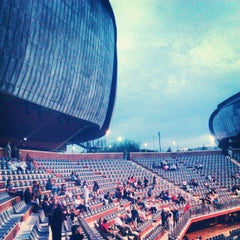 Photo taken at Auditorium Parco della Musica by Fabrizio A. on 7/22/2012