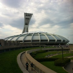 Photo taken at Stade Olympique by Vivian R. on 5/12/2012