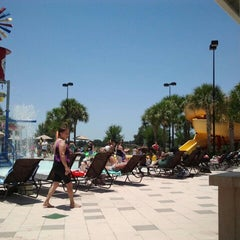 Photo taken at Lake Eva Aquatic Center (Water Park) by Sharon P. on 6/12/2012