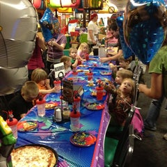 Photo taken at Chuck E. Cheese's by Krista L. on 4/3/2012