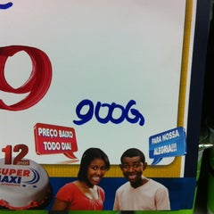 Photo taken at Super Maxi Supermercados by Leonardo O. on 9/3/2012