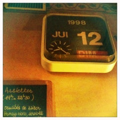 Photo taken at Chez Prune by Myriam M. on 4/14/2012