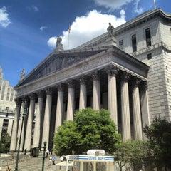 Photo taken at New York Supreme Court by Nikki N. on 6/7/2012