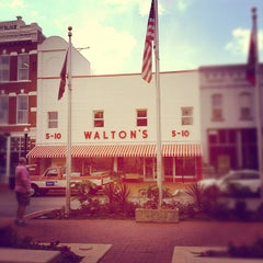 Photo taken at The Walmart Museum by Geoffrey S. on 5/13/2012