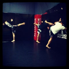 Photo taken at Alliance Gym & Fight Club by Maria B. on 4/20/2012
