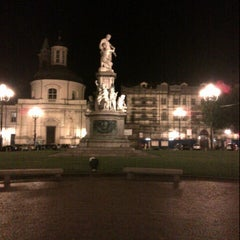 Photo taken at Piazza Carlina by Ram R. on 7/15/2012