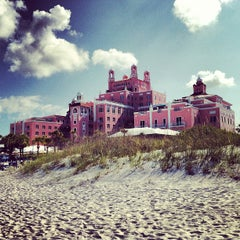 Photo taken at Loews Don CeSar Hotel by Eric T. on 5/11/2012