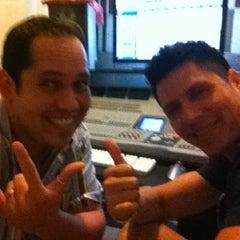 "Photo taken at Prosantana Recording Studio, Creative Gallery by Carlos ""Charlie"" S. on 4/19/2012"