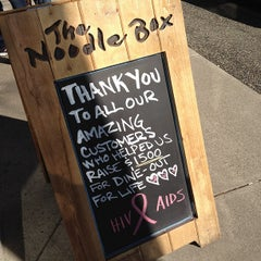 Photo taken at The Noodle Box by Winnie L. on 4/1/2012