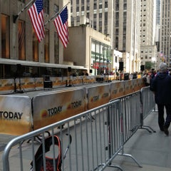 Photo taken at TODAY Show by Derrick J. on 6/5/2012