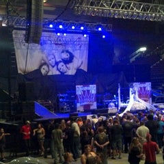 Photo taken at Casper Events Center by Chauncey M. on 8/1/2012