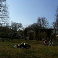 Photo taken at Helmholtzplatz by Michael B. on 3/28/2012