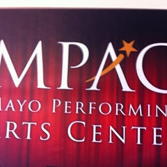 Photo taken at Mayo Performing Arts Center (MPAC) by Jay W. on 5/22/2012