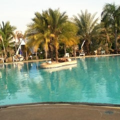 Photo taken at Castle Howchow Beach Resort Hotel Khon Kaen by Kanokchol P. on 3/5/2012