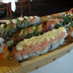 Photo taken at Bangkok Sushi by Chris K. on 4/28/2012