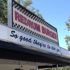 Photo taken at Redrum Burger by Dan on 7/29/2012