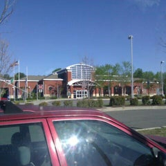 Photo taken at Tuckahoe Library by Lynnette B. on 4/7/2012