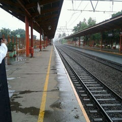 Photo taken at Stasiun Tanjung Barat by Sarah H. on 2/19/2012