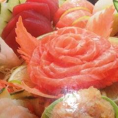 Photo taken at Hiro Sushi by Priscilla M. on 6/20/2012