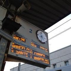 Photo taken at Estació de Tarragona by Alberto J. on 4/19/2012