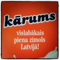 Photo taken at Rigas Piensaimnieks by Andis on 4/4/2012