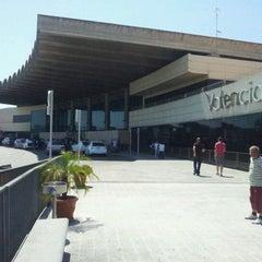 Photo taken at Aeroport de València (VLC) by Dimas A. on 6/1/2012