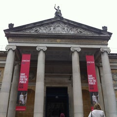 Photo taken at The Ashmolean Museum by Patricia D. on 4/28/2012