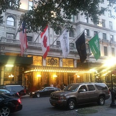 Photo taken at The Oak Room at The Plaza Hotel by Stephanie K. on 6/29/2012