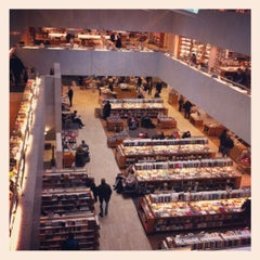 Photo taken at Akateeminen kirjakauppa by Simone B. on 2/18/2012