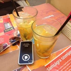 Photo taken at Trattoria Étterem/Restaurant by Krisztian S. on 4/25/2012