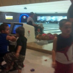 Photo taken at Rolling Lanes Bowling Alley by Alyssa N. on 6/23/2012